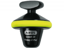 Antirrobo disco Abus Granit Victory X-Plus 68 yellow half