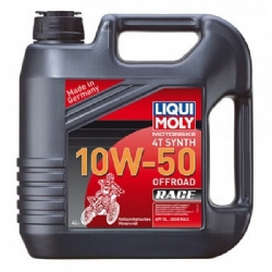 Aceite Liqui-Moly Offroad Race 4T Synth 10W-50 4 Litros