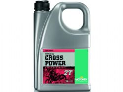 Aceite Motorex Cross Power 2T 4 Litros