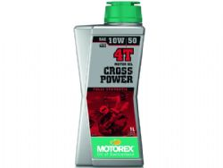 Aceite Motorex Cross Power 4T 10W50 1 Litro