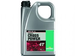 Aceite Motorex Cross Power 4T 10W60 4 Litros