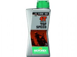 Aceite Motorex Top Speed 4T 10W40 1 Litro MT054H004T