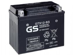 Batería Gs Battery GTX12-BS