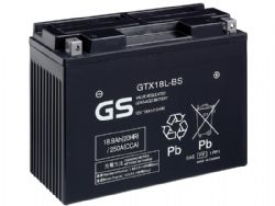 Batería Gs Battery GTX18L-BS