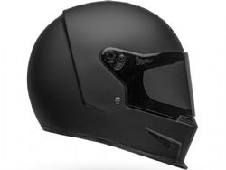 Casco Bell Eliminator Solid Negro Mate