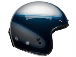 Casco Bell Custom 500 Carbon Jager Azul Candy