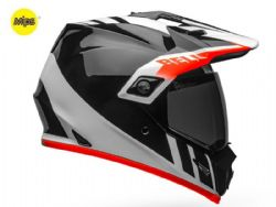 Casco Bell MX-9 Adventure Mips Dash Negro / Blanco / Naranja