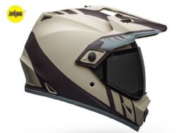 Casco Bell MX-9 Adventure Mips Dash Arena / Marrón / Gris