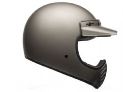 Casco Bell Moto-3 Independent Mate Titanio