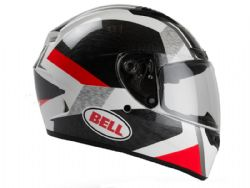 Casco Bell Qualifier Dlx Mips Equipped Accelerator Rojo / Negro