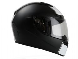 Casco Bell Qualifier Dlx Rally Mate Negro / Blanco