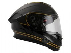 Casco Bell Race Star Ace Cafe Speed Check Negro / Oro