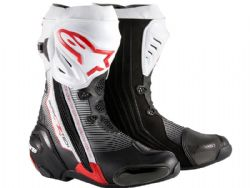 Botas Alpinestars Supertech-R Black / Red / White