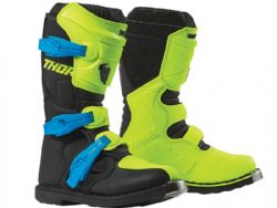 Botas Thor Blitz XP S9 Youth Flo Acid / Negro