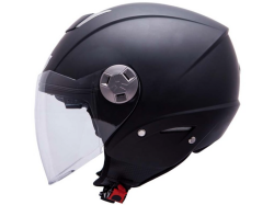 Casco Mt City Eleven Sv Solid Negro Mate