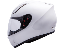 Casco Mt Revenge Solid Blanco