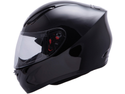 Casco Mt Revenge Solid Negro Brillo