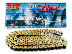 Cadena Did 530 ZVMX X-Ring 112 ZB Oro