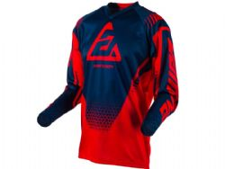Camiseta Answer Syncron Drift Roja / Azul
