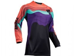 Camiseta Thor Pulse Woman S9 Depths Negro / Coral