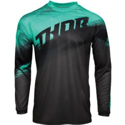 Camiseta Thor Sector Youth Vapor Mint / Charcoal