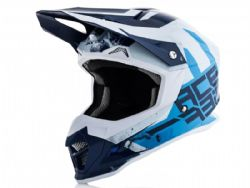 Casco Acerbis Profile 4 Azul / Blanco