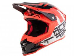 Casco Acerbis Profile 4 Blanco / Rojo