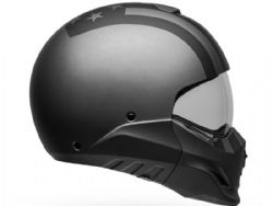 Casco Bell Broozer Freeride Gris Mate / Negro