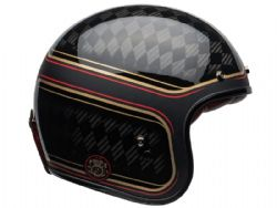 Casco Bell Custom 500 Carbon RSD Checkmate Negro / Oro