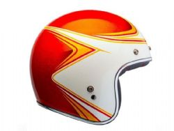 Casco Bell Custom 500 Copperhead Naranja / Blanco
