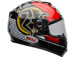 Casco Bell SRT Isle of Man 2020 Negro / Rojo