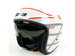 Casco Blauer Pilot 1.1 Graphic B Blanco