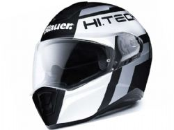 Casco Blauer Force One 800 Black Matt / White
