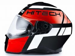 Casco Blauer Force One 800 Black / Red / White