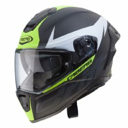 Casco Caberg Drift Evo Carbon Antracita / Amarillo