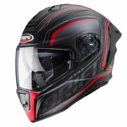Casco Caberg Drift Evo Integra Negro / Antracita / Rojo