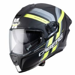 Casco Caberg Drift Evo Vertical Negro / Amarillo / Antracita
