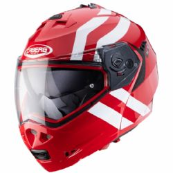 Casco Caberg Duke 2 Superlegend Rojo / Blanco