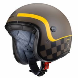 Casco Caberg Freeride Formula Marrón Mate / Amarillo