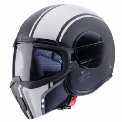 Casco Caberg Ghost Legend Negro / Blanco