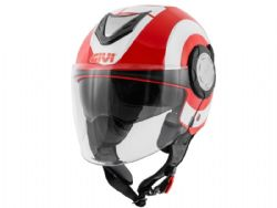 Casco Givi 12.4 Future Big Rojo / Blanco