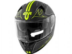 Casco Givi 50.6 Stoccarda Splinter Negro / Amarillo