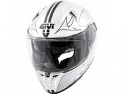 Casco Givi 50.6 Stoccarda Splinter Blanco / Negro