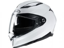 Casco Hjc F70 Metal Blanco Perla