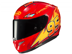 Casco Hjc Rpha 11 Lightning McQueen MC1