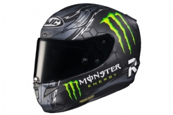 Casco Hjc Rpha 11 Crutchlow Replica Negro MC5SF