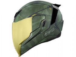 Casco Icon Airflite Battlescar 2 Verde