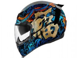 Casco Icon Airflite Good Fortune Azul