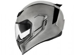 Casco Icon Airflite Quicksilver Plata