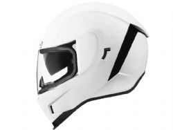 Casco Icon Airform Blanco Brillo